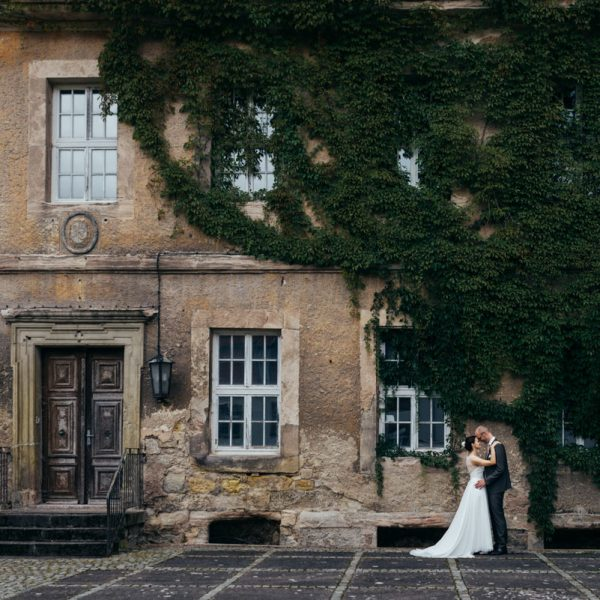 Schloss Bischofstein und etwas Regen